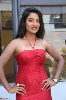 Mamatha sizzles in red Gown at Katrina Karina Madhyalo Kamal Haasan movie Launch event 101.JPG