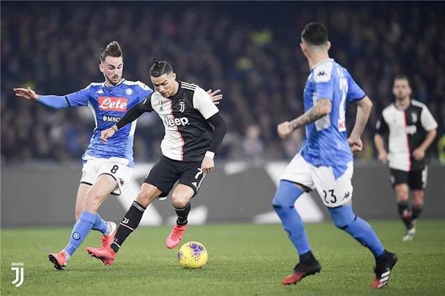 صور | نابولي ضد يوفنتوس .. مشاهد من نهائي كاس ايطاليا
