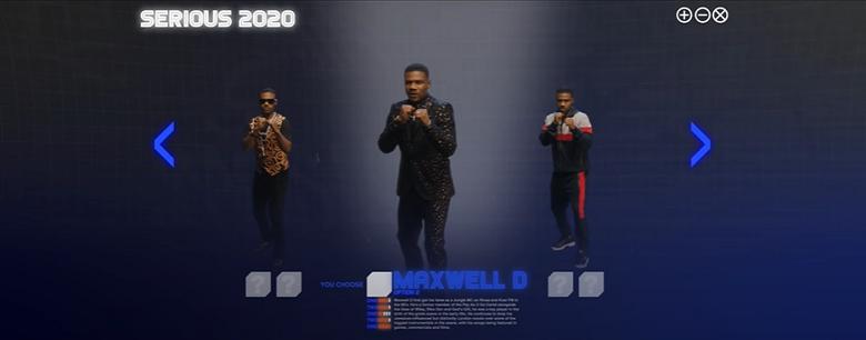 Maxwell D — Serious 2020