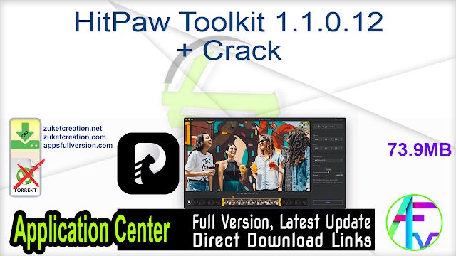 HitPaw Toolkit 1.1.0.12 + Crack