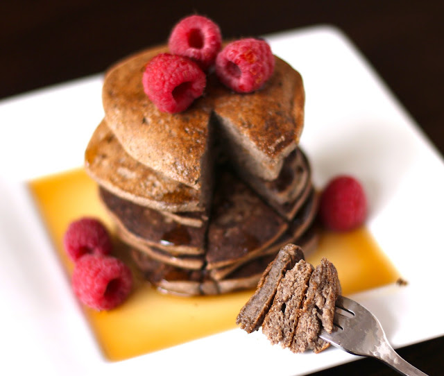 Super Easy 4 Ingredient Buckwheat Pancakes Gluten Free Low Fat Vegan