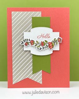8 Stampin' Up! Quite Curvy Spring Cards ~ www.juliedavison.com #stampinup