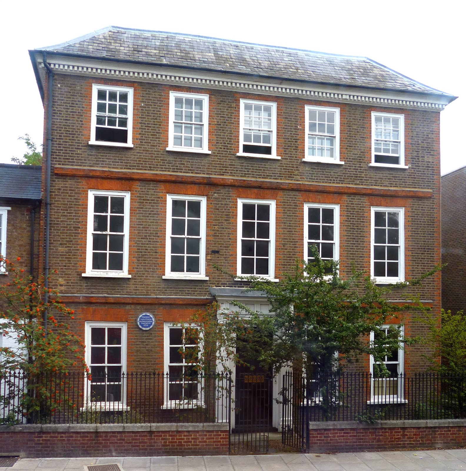 Dr Tony Shaw: Van Gogh in Isleworth, Hounslow