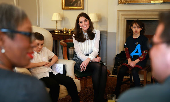 "The Duchess of Cambridge has called on Britain to view children's mental health as being ""every bit as important as their physical health"" as she began her guest editorship of the Huffington Post UK."