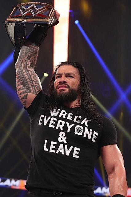 Wreck Everyone & Leave Roman Reigns shirt.  PYGear.com