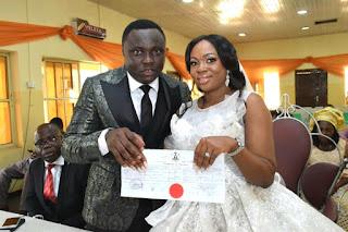 Festus Keyamo's Sister, Miriam Weds Harrysong's Manager, Desmond Ike (Photo)