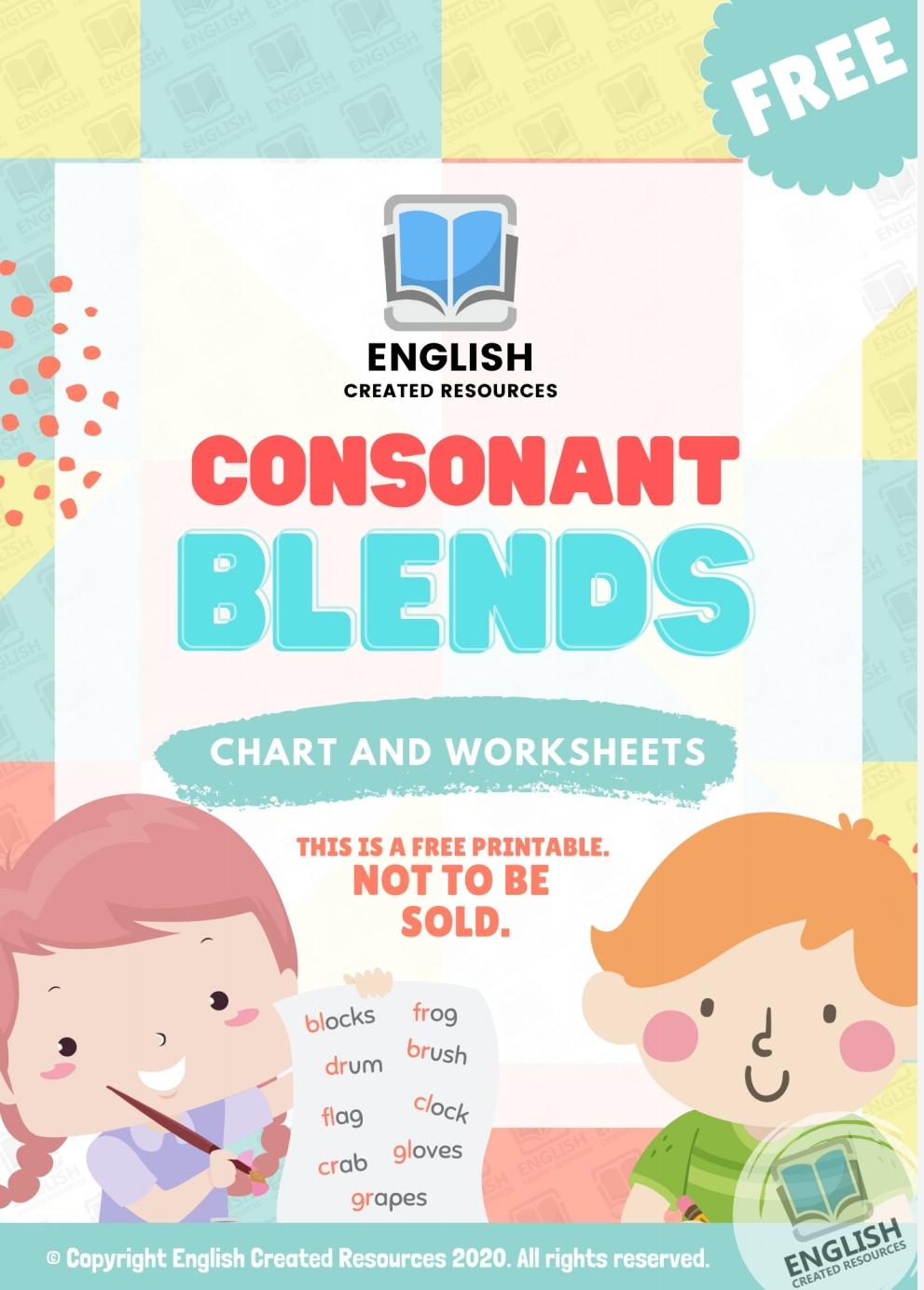 medium resolution of Consonant Blends Worksheets