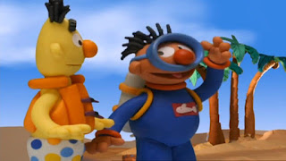 Sesame Street Bert and Ernie's Great Adventures Deep Sea