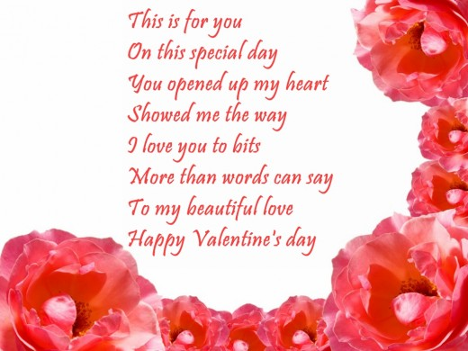 Happy Valentines Day Poems – Valentine Cards Poems