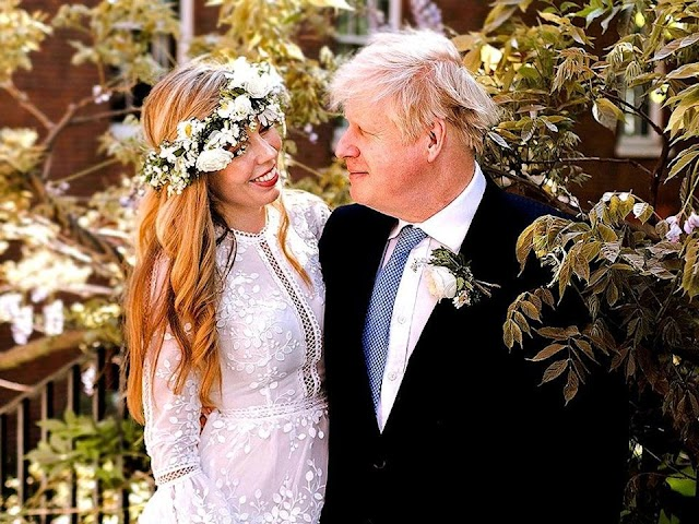 UK Prime Minister Boris Johnson married Carrie Symonds, in a secret ceremony at Westminster Cathedral on Saturday.