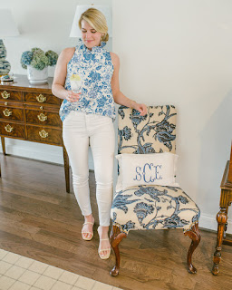 Blue and White Home Finds