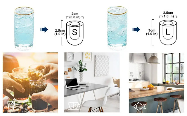 1. Euhomy Portable Ice Maker Machine Countertop - Features :
