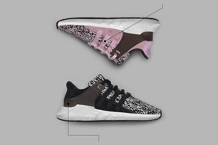 Adidas BOOST Collection NMD_R1, EQT Support, Ultra Boost, Pure