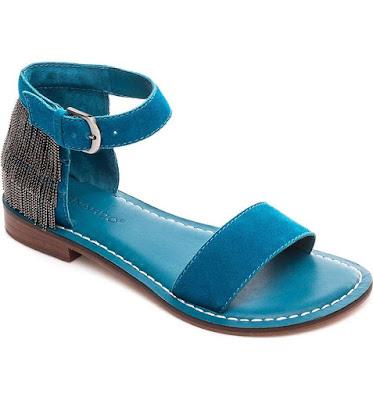 Sandalias con Flecos