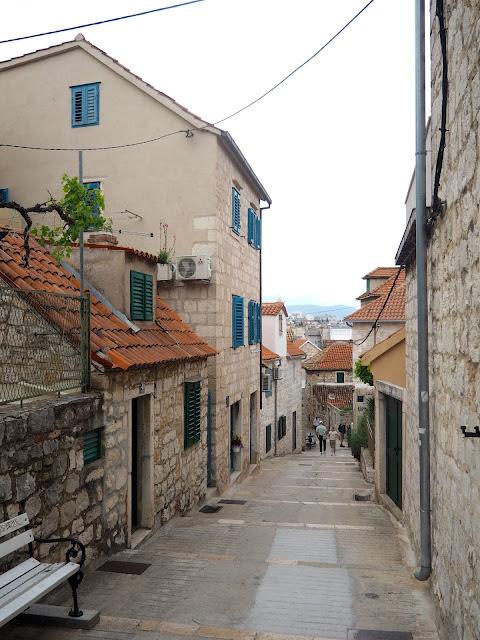 Streets of Varos, Split, Croatia