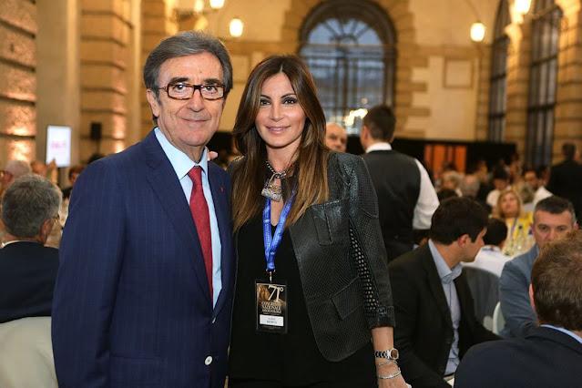 Ilaria Petitto and Riccardo Cotarella