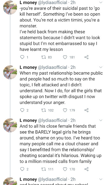 How many of your age mates have you actually dated? - Timini's bestie, Dorcas Shola Fapson defends him after being slammed by his 19-year-old ex-girlfriend