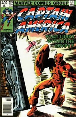 Captain America #239