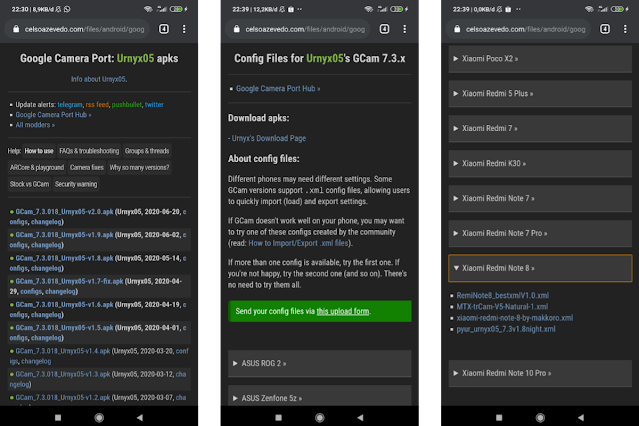 Cara Memasang Aplikasi GCam di Xiaomi Redmi Note 8