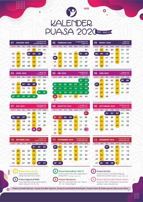 Download Kalender Puasa 2020 Gratis - Info.saifuldesain.com