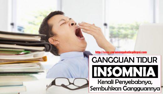 Faktor Risiko Penyebab Insomnia