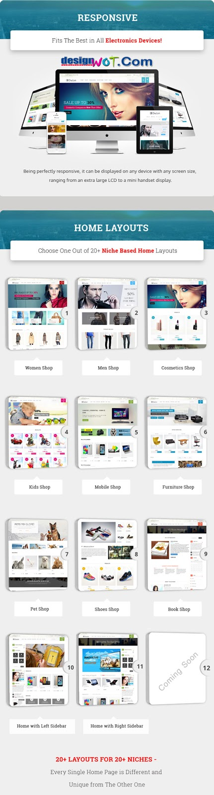 Ducan- Start An Online Store Woocommerce WP Theme