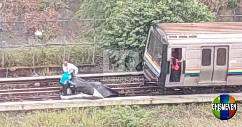 Techo de Zink casi provoca un enorme desastre en el Metro de Caracas