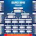 Schedule EURO 2016 or Jadwal Piala Eropa 2016