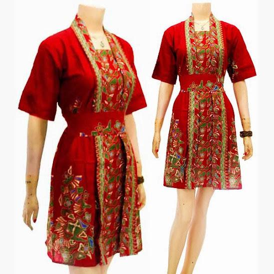 Batik Tulis Dress: Batik Solo Murah