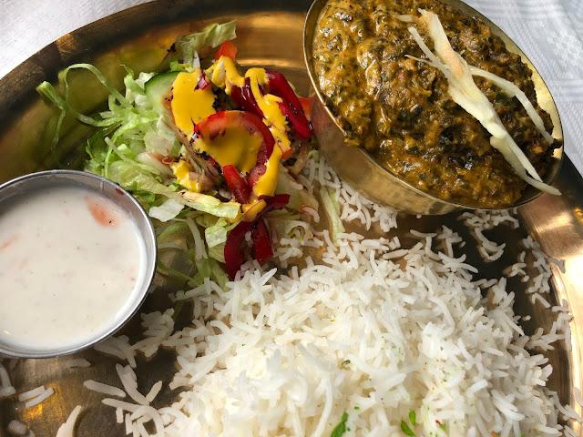 Nepalilainen kasvisruoka on niin herkullista