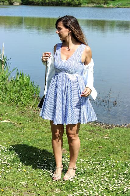 robe sandro, sandales minelli Les petites bulles de ma vie
