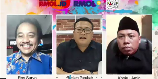 Roy Suryo Sentil Risma: Tugas Menteri Bukan Membantu 'Presiden DKI', tapi Presiden Jokowi