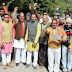 हिन्दुओं की आस्थाओं को अपमानित करने के विरोध में विहिप का प्रदर्शन