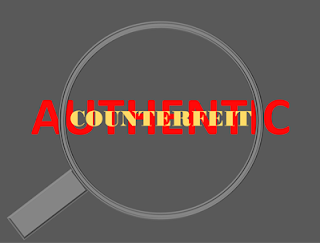 no to counterfeiting