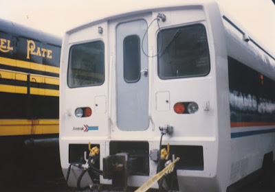 Amtrak Talgo Pendular 200 at Union Station in Portland, Oregon, on May 11, 1996
