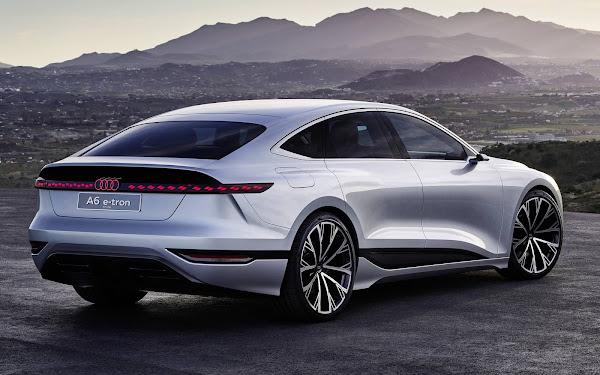 Audi A6 e-tron elétrico