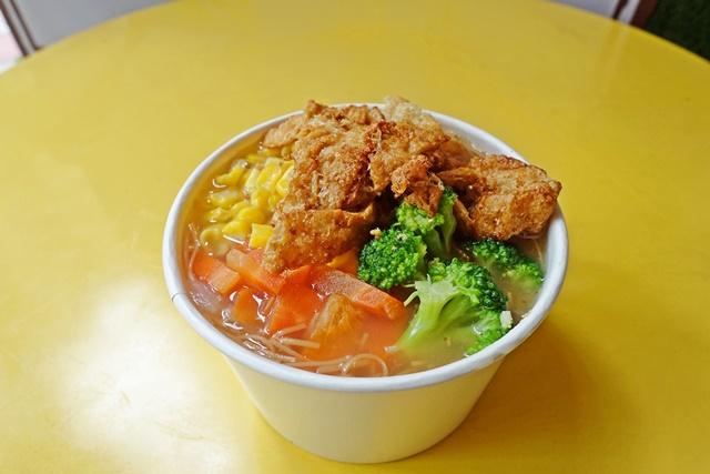 文大叔蔬食麵線~台北大同區素食、捷運雙連站