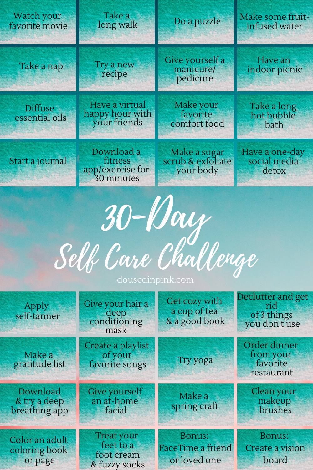 30-Day Self Care Challenge