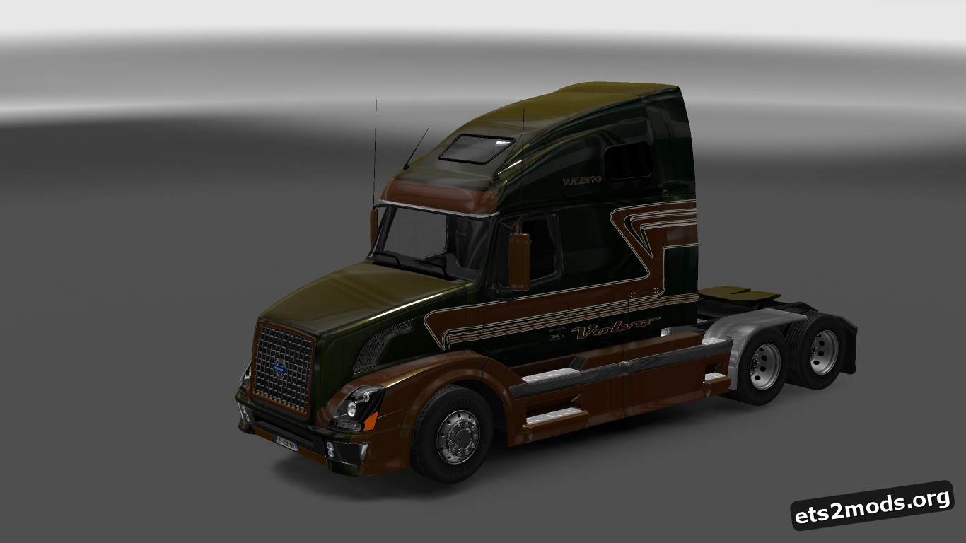 Custom Metallic Skin for Volvo VNL 670