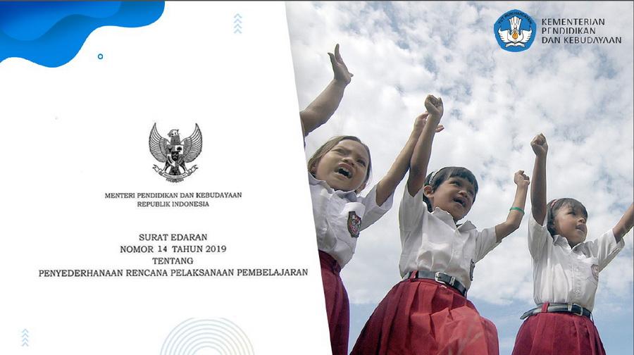 Edaran Mendikbud No 14 Tahun 2019 Tentang Penyederhanaan RPP 1 Lembar