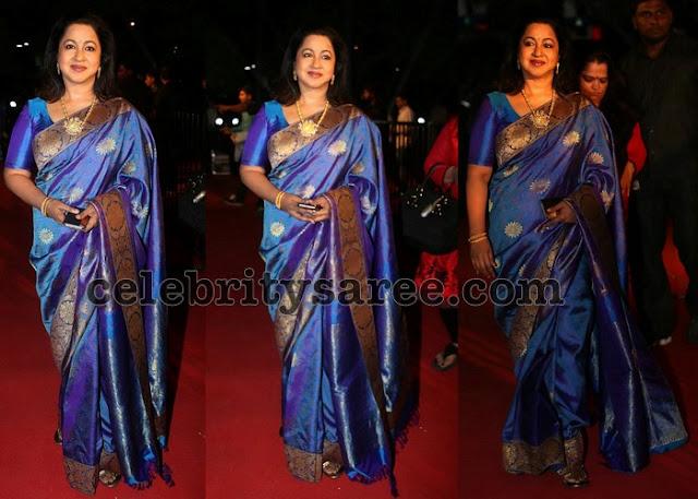 Radhika Sarat Kumar Jute Silk Saree