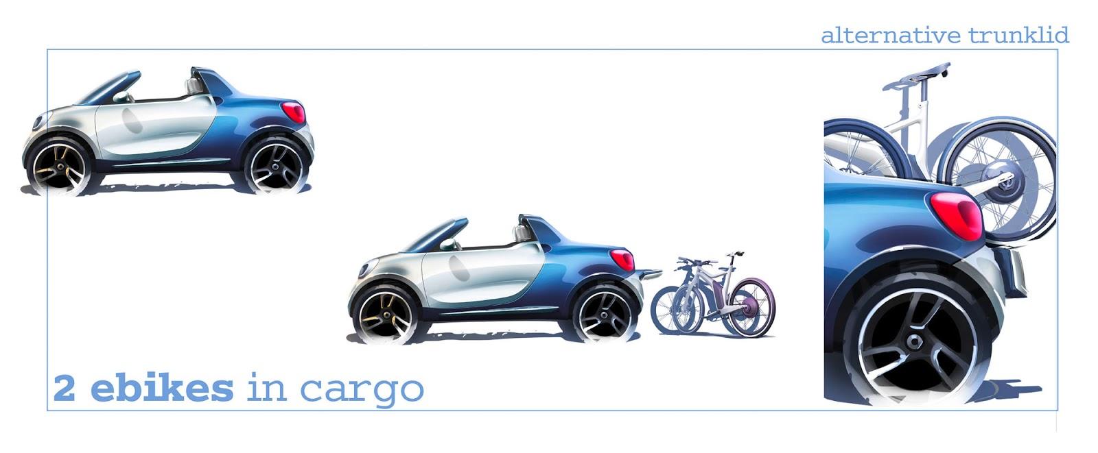 Smart for-us concept sketch by Diedrik Vanbrabant