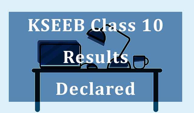 Karnataka KSEEB SSLC Class 10 Result 2020