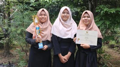 Prestasi Bertambah, SMAN 10 Purworejo Raih Juara III Lomba Karya Tulis Ilmiah Remaja SMA tingkat Provinsi