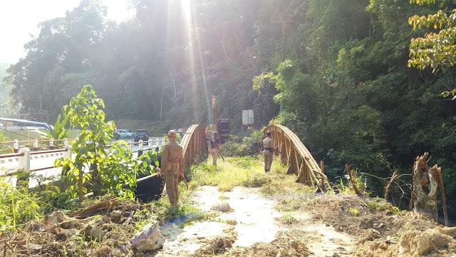 Hilangkan Kesan Angker,  Satpol-PP Sulap Jembatan Kuning Jadi Lokasi Wisata