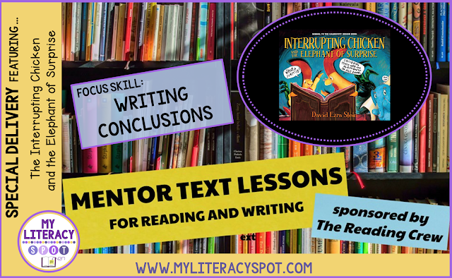 Using Mentor Text for writing better endings in stories #mentortext #writingminilesson