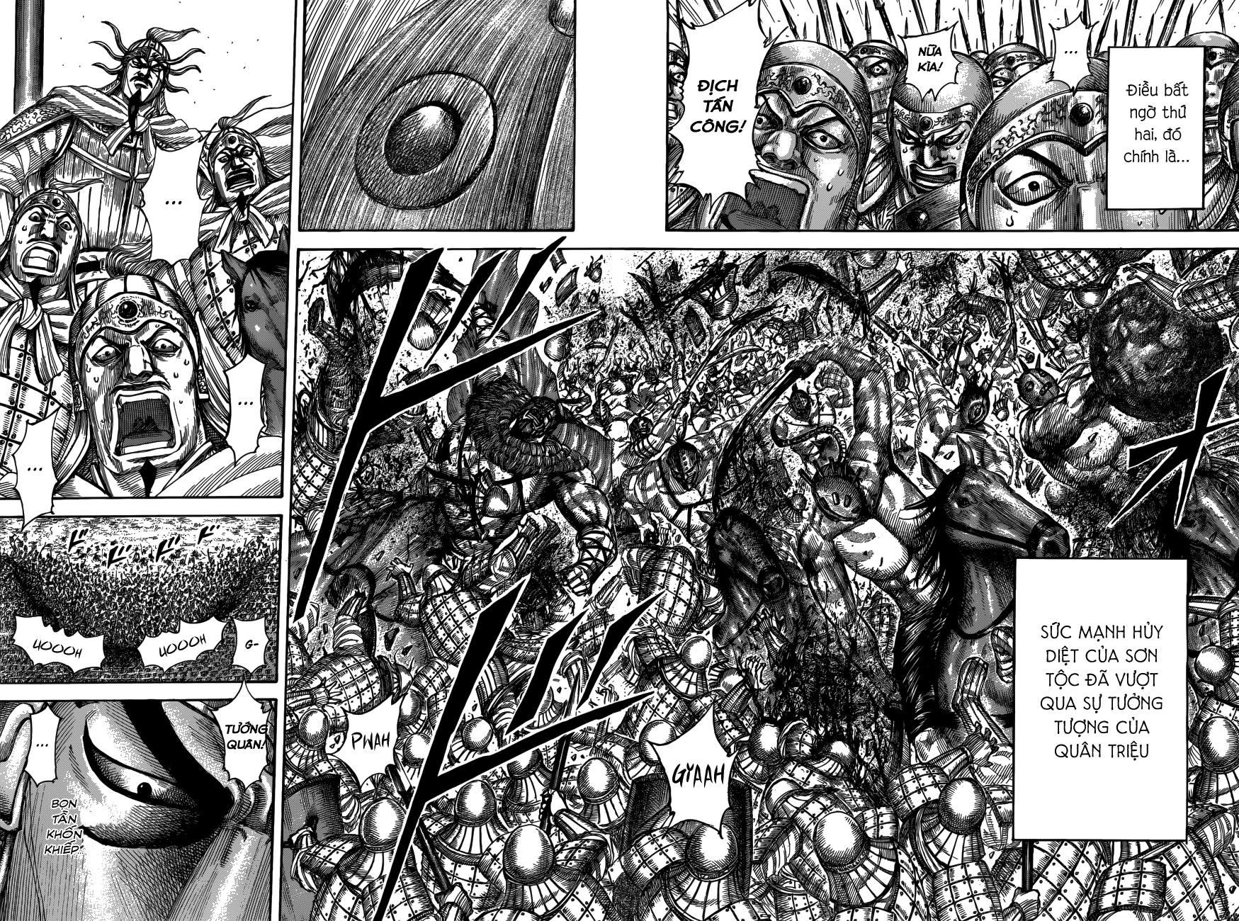 Kingdom chapter 518: chiến địa liêu dương trang 17
