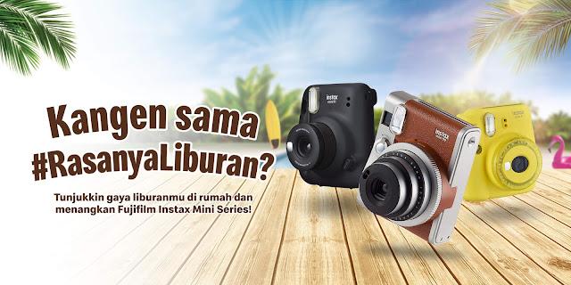 MCDonald's Photo Competition #RasanyaLiburan , Dapatkan Fujifilm Instax Polaroid Mini 90 (s.d 10 Januari 2021)