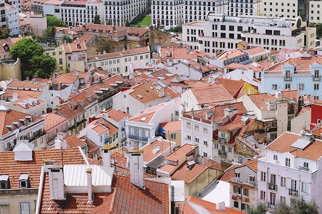 Lisbon rooftops