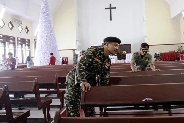 GP Ansor Kerahkan Setengah dari 7 Juta Banser Amankan Natal